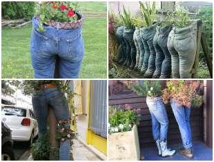 Como plantar em calças jeans