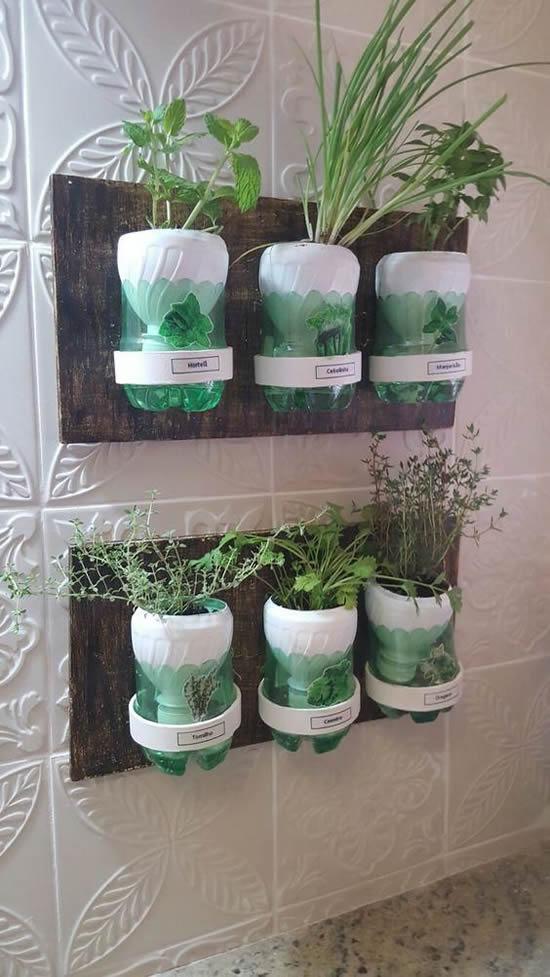 Vasos Reciclados e Criativos