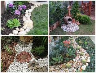 Decoração com Pedras em Jardim