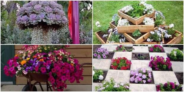 Ideias Criativas de Decoração para Jardim