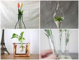 Vasos Criativos para Decoração da Casa