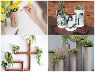 Como plantar em canos PVC