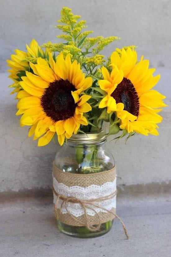 Vasos de Flores para Decoração
