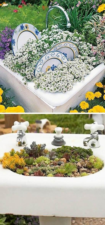 Vasos super criativos com reciclagem