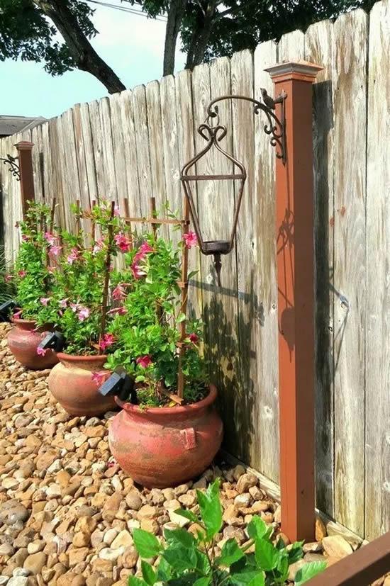 Ideias de Decoração Rústica para Jardim