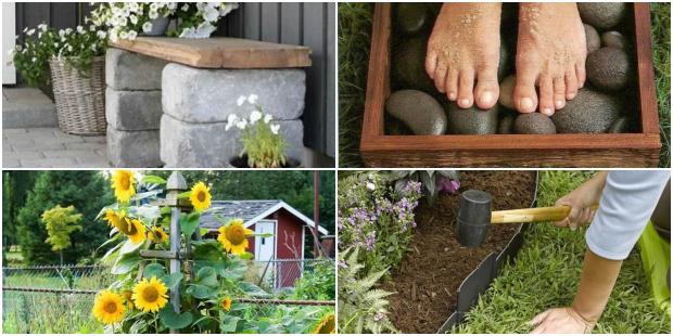 Ideias Legais para Decoração de Jardim