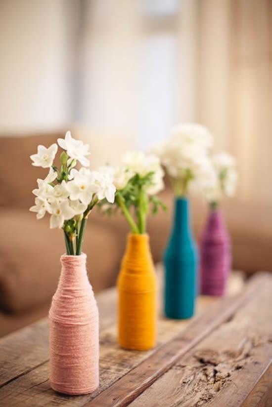 Ideias Lindas para Vasos Reciclados