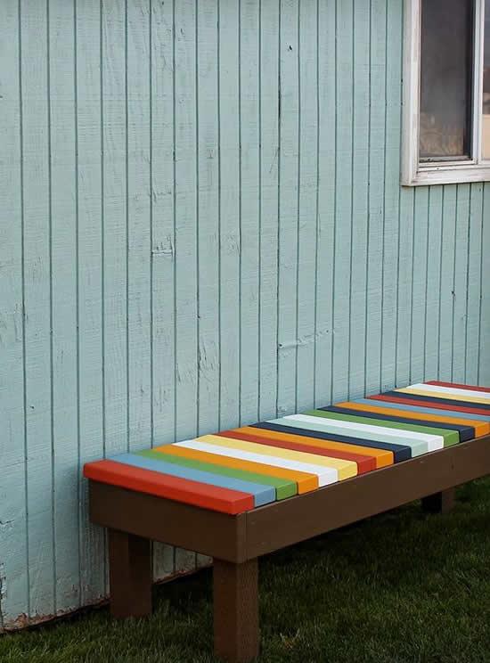 Bancos Criativos para Jardim