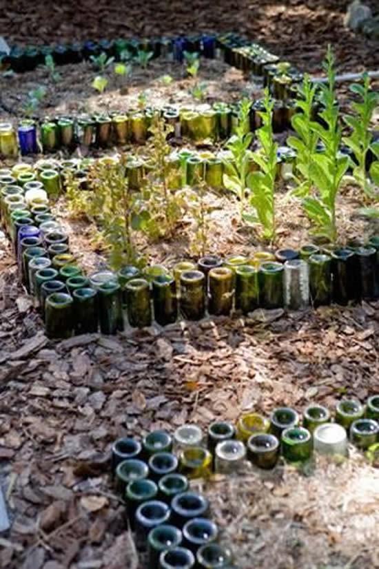 Ideias Diferentes para Decorar o Jardim