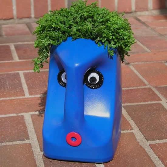 Como fazer vaso reciclado