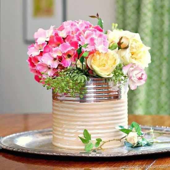 Vaso Reciclado com Lata