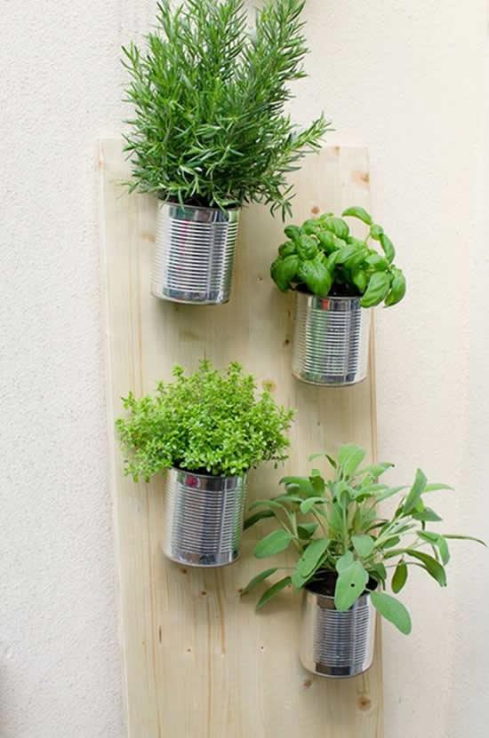 Decoração com Vasos Sustentáveis