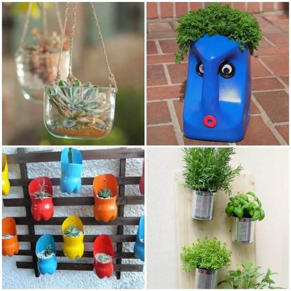 Como fazer vasos sustentáveis