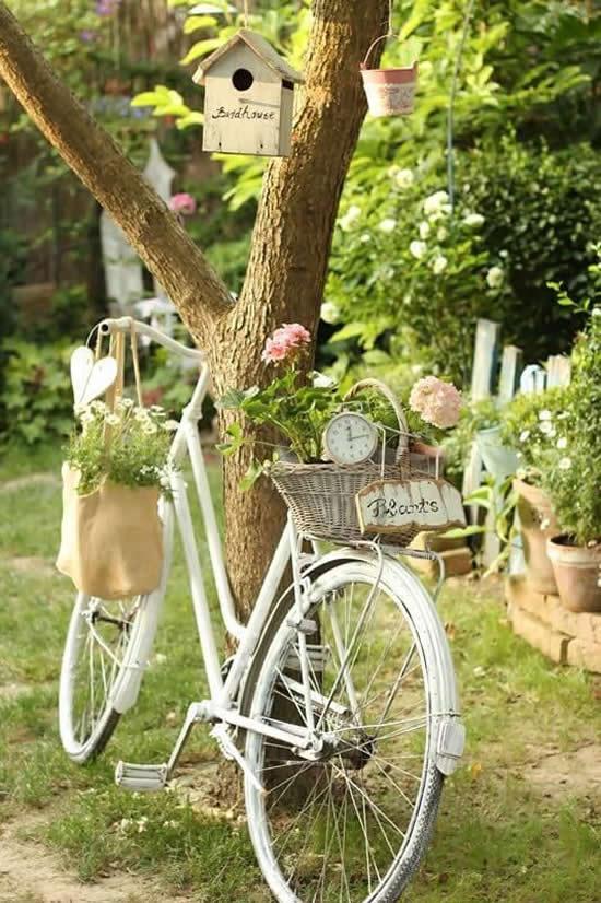 Decoração Estilosa com Bicicletas