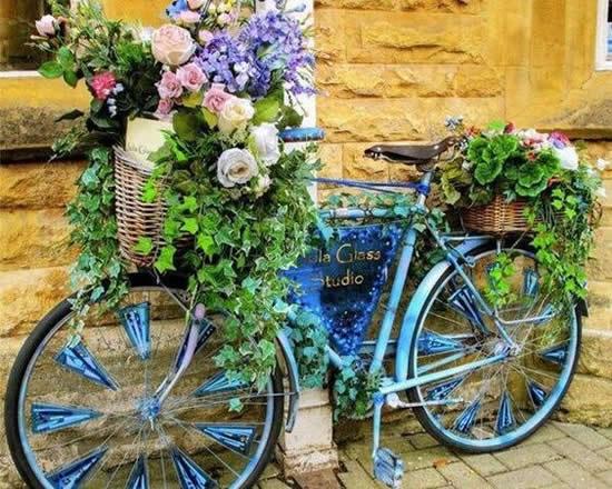 Decoração Criativa com Bicicletas