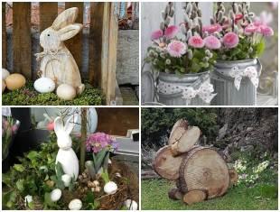 Decoração de Páscoa para Jardim