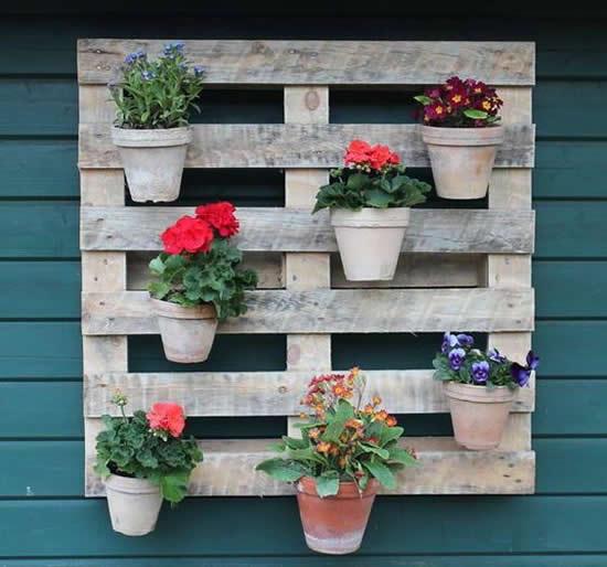 Ideias com Paletes para Jardim