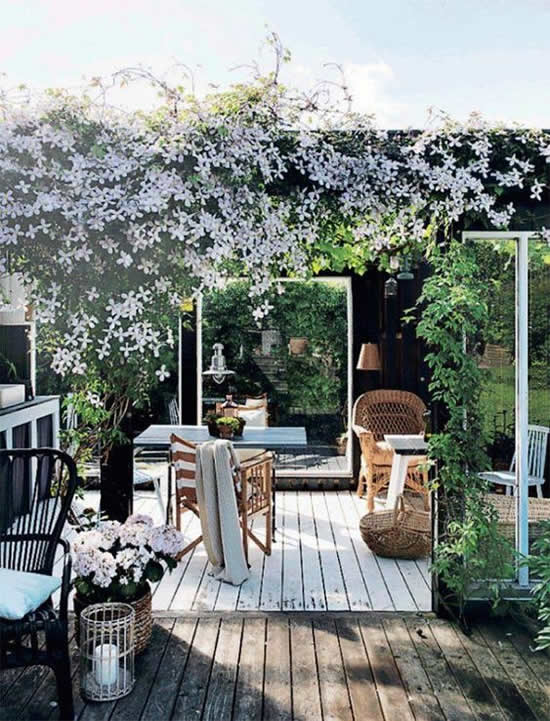 Áreas de Lazer com Jardins