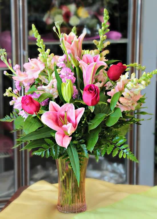 Decoração com Flores para Dia das Mães