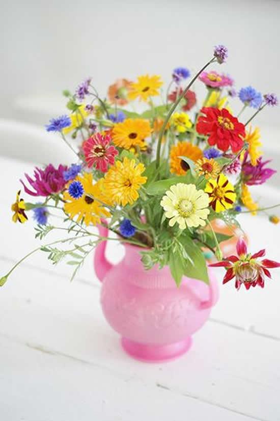 Arranjos Florais para Dia das Mães