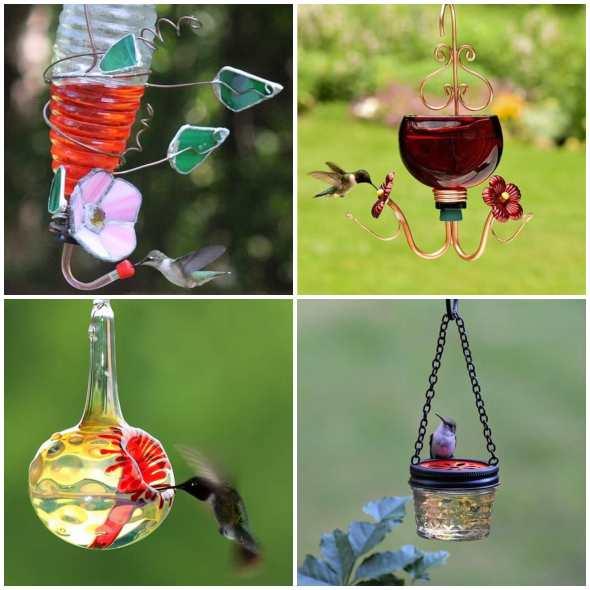 Lindos Bebedouros para Pássaros no Jardim