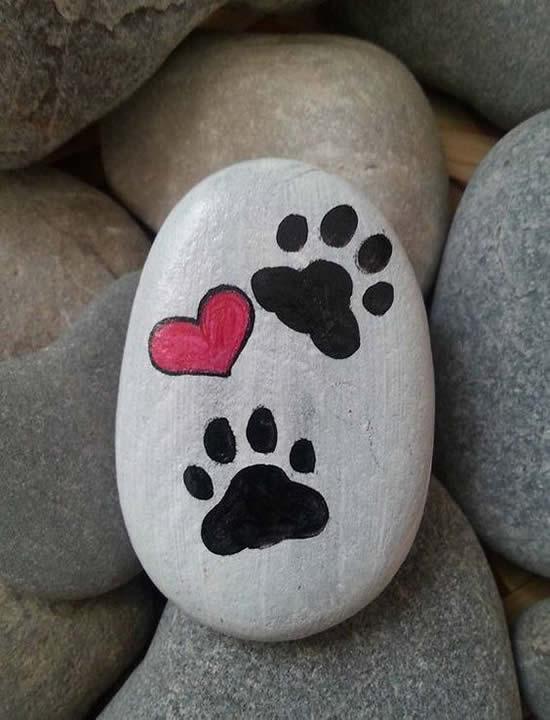 Lindas artes com pedras