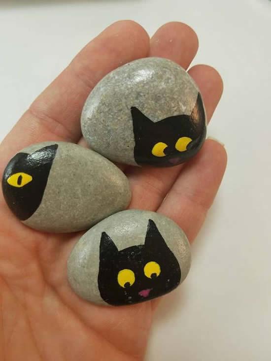 Artes com pedras: ideias e inspirações