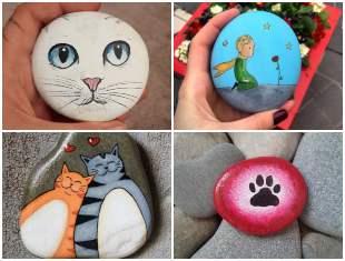 Como fazer arte com pedras