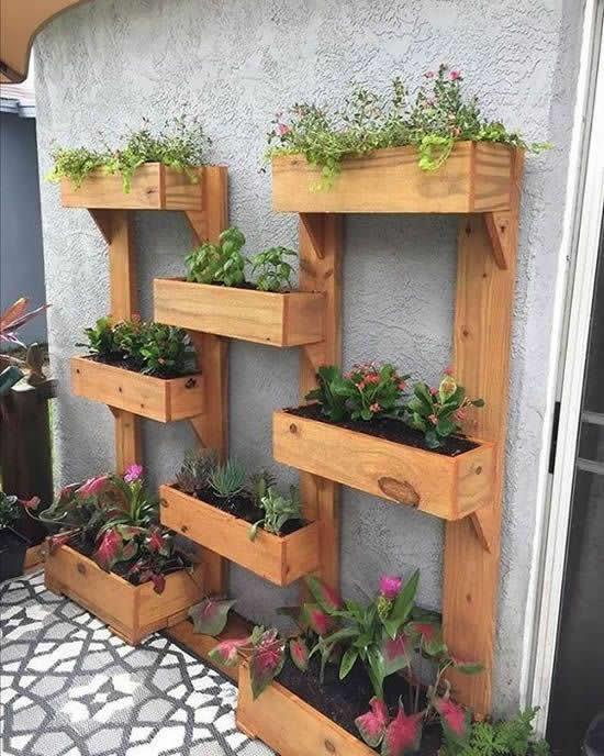 Decoração para Jardim com Pallets