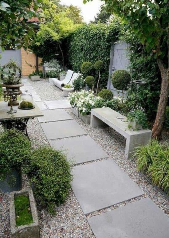 Ideias para jardins pequenos
