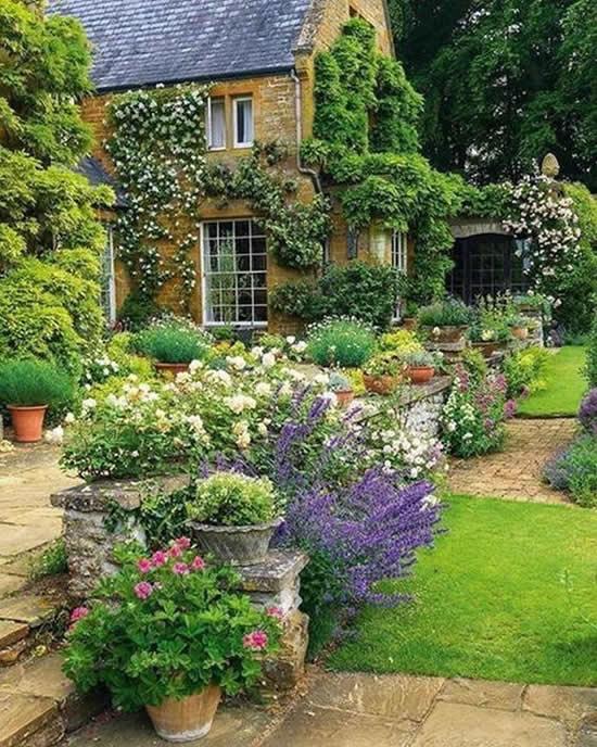 Inspirações com Jardins Floridos