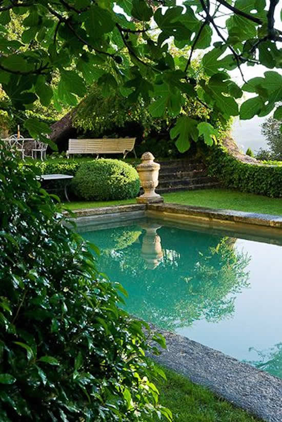 Jardins Planejados com Piscaina