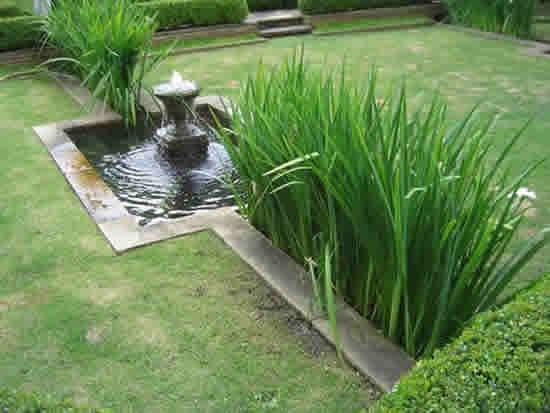 Lindos Jardins com Fontes