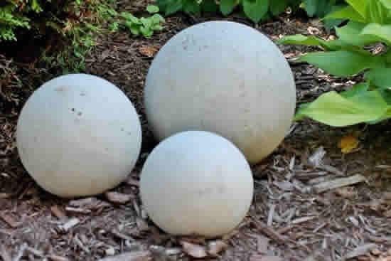 Globos de Concreto - Pedras Decorativas