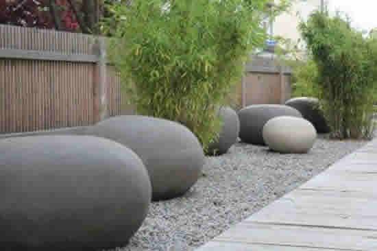 Lindas Pedras para Decorar Jardim