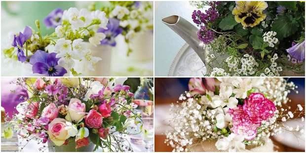 Arranjos de Flores para Decoração