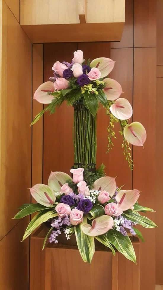 Como fazer arranjo floral