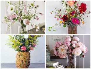 Como fazer decoração com arranjos de flores