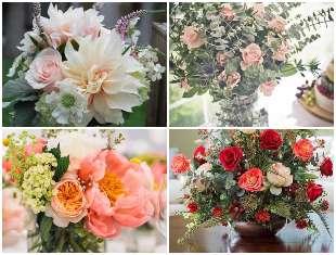 Arranjos de flores maravilhosos para decoração