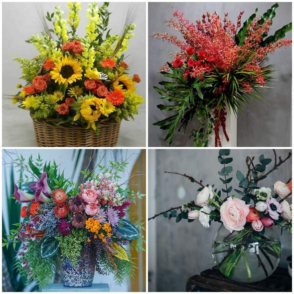 Arranjos Decorativos com Flores