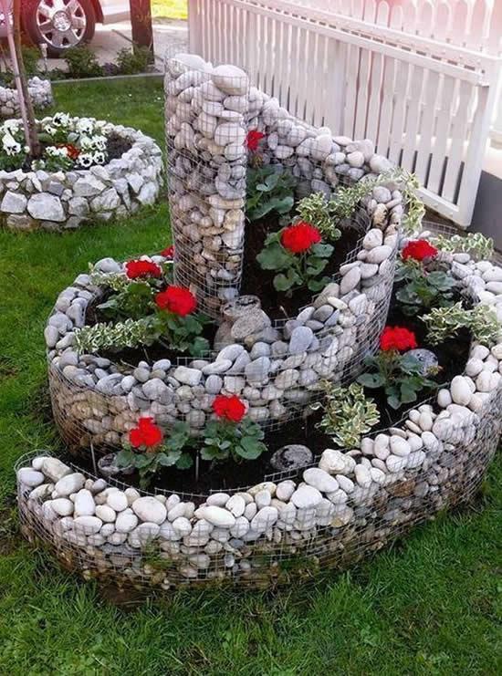 Decoração Linda no Jardim