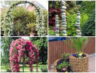 Decoração diferente e criativa para jardim