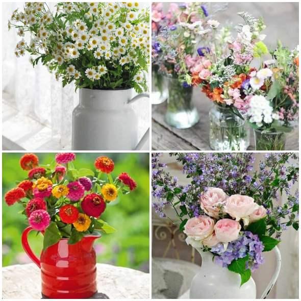 Vasinhos Lindos com Flores