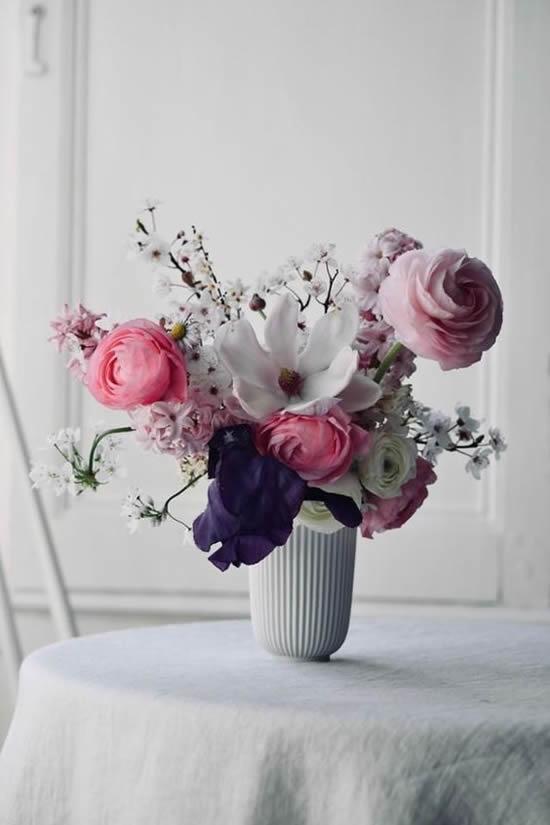 Dicas para decoração com arranjos de flores