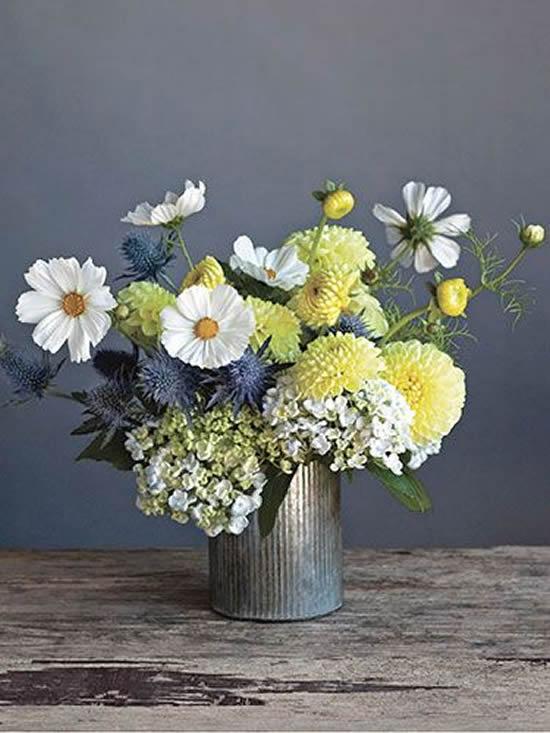 Arranjos de flores para mesa