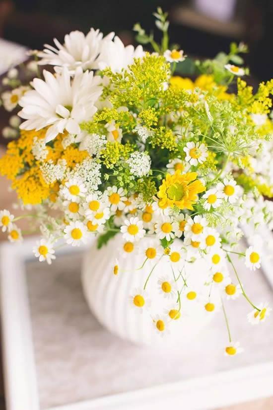 Lindo arranjo de flores