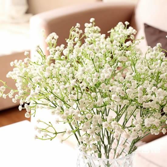 Decoração com flores mosquitinho
