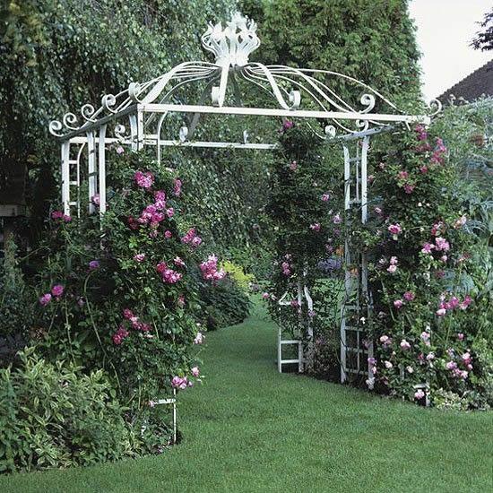 Lindos gazebos para o jardim