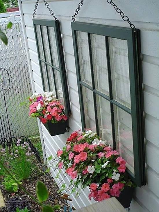 Decoração com flores para quintal e jardim