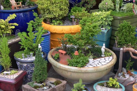 Lindos mini jardins
